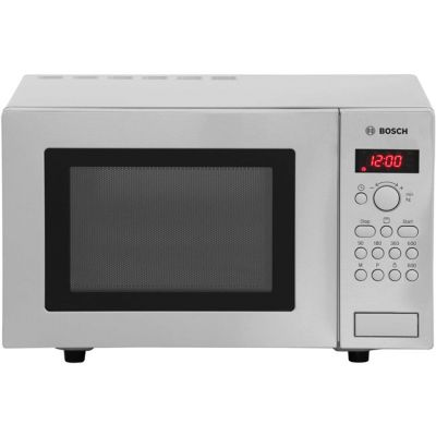 Bosch HMT75G451B 17 Litre Microwave With Grill - Stainless Steel Best Price, Cheapest Prices