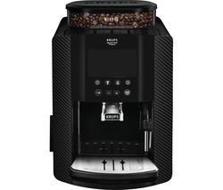 KRUPS Arabica Digital EA817K40 Bean to Cup Coffee Machine - Carbon Best Price, Cheapest Prices