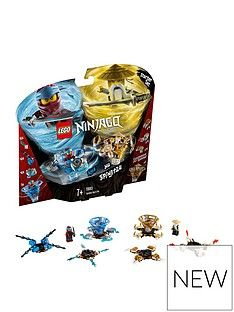 LEGO Ninjago 70663 Spinjitzu Nya & Wu Spinners Best Price, Cheapest Prices