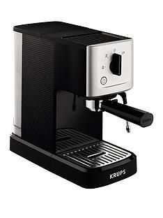 Krups XP344040 Calvi Manual Espresso Machine - Black Best Price, Cheapest Prices