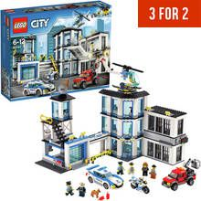 LEGO City Police Station, Helicopter Car & Bike Toys - 60141 Best Price, Cheapest Prices