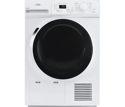 BELLING BEL FHD800 Heat Pump Tumble Dryer - White Best Price, Cheapest Prices