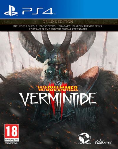 Warhammer: Vermintide 2 Deluxe Edition PS4 Game Best Price, Cheapest Prices