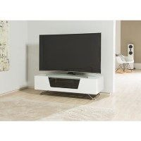 Alphason CRO2-1200CB-WHT Chromium 2 TV Cabinet for up to 55