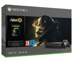 MICROSOFT Xbox One X with Fallout 76 Best Price, Cheapest Prices