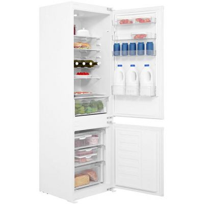 Beko BCSD173 Integrated 70/30 Fridge Freezer with Sliding Door Fixing Kit - White - A+ Rated Best Price, Cheapest Prices