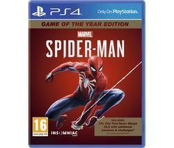 PS4 Marvel's Spider-Man: Game of the Year Edition Best Price, Cheapest Prices