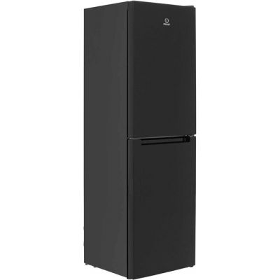 Indesit LD85F1K.1 50/50 Frost Free Fridge Freezer - Black - A+ Rated Best Price, Cheapest Prices