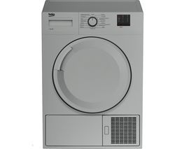 BEKO DTBC7001S 7 kg Condenser Tumble Dryer - Silver Best Price, Cheapest Prices