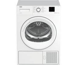 BEKO Pro DTBP10011W 10 kg Heat Pump Tumble Dryer - White Best Price, Cheapest Prices