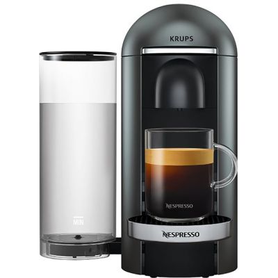 Nespresso by Krups VertuoPlus XN900T40 - Titanium Best Price, Cheapest Prices