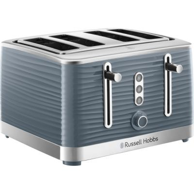 Russell Hobbs Inspire 24383 4 Slice Toaster - Grey Best Price, Cheapest Prices