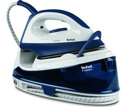 TEFAL Fasteo SV6040 Steam Generator Iron - Blue & White Best Price, Cheapest Prices