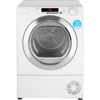 Candy Grand'O Vita GVSC9DCG 9Kg Condenser Tumble Dryer - White - B Rated Best Price, Cheapest Prices