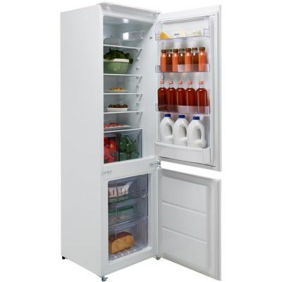 Zanussi ZBB28651SV Integrated 70/30 Frost Free Fridge Freezer with Sliding Door Fixing Kit - White - A+ Rated Best Price, Cheapest Prices