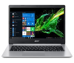 """ACER Aspire 5 A514-52 14"""" Intel® Core™ i3 Laptop - 128 GB SSD, Silver Best Price, Cheapest Prices"""