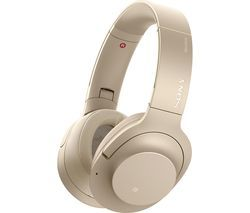 SONY WH-H900N Wireless Bluetooth Noise-Cancelling Headphones - Gold Best Price, Cheapest Prices