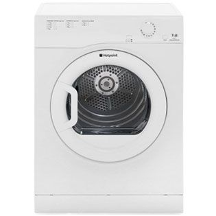 Hotpoint Aquarius TVFM70BGP 7Kg Vented Tumble Dryer - White - B Rated Best Price, Cheapest Prices