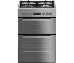 BEKO XDVG675SM 60 cm Gas Cooker - Black Best Price, Cheapest Prices