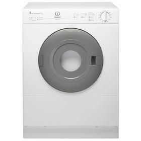 Indesit NIS41V 4KG Vented Tumble Dryer - White Best Price, Cheapest Prices