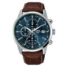 Lorus Men's Brown Leather Strap Chronograph Watch Best Price, Cheapest Prices