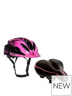 Awe Ladies Helmet and Saddle Set Best Price, Cheapest Prices