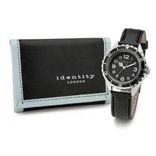 Identity London Black Sports Watch Set Best Price, Cheapest Prices