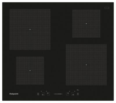Hotpoint CIS640B Electric Induction Hob - Black Best Price, Cheapest Prices