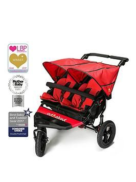 Out N About Nipper Double V4 Pushchair Best Price, Cheapest Prices