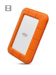 LaCie 2Tb Rugged Thunderbolt Shock & Drop Resistance Portable External Hard Drive for PC & Mac Best Price, Cheapest Prices
