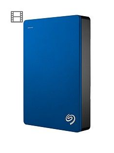 Seagate 5Tb Backup Plus portable with Optional 2 Year Data Recovery Plan - Blue Best Price, Cheapest Prices