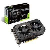 ASUS GeForce GTX 1650 SUPER TUF GAMING OC 4GB GDDR6 VR Ready Graphics Card, 1280 Core, 1530MHz GPU, 1770MHz Boost Best Price, Cheapest Prices