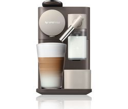 NESPRESSO by De'Longhi Lattissima One EN500BW Coffee Machine - Brown Best Price, Cheapest Prices