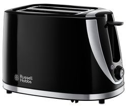 RUSSELL HOBBS Mode 21410 2-Slice Toaster - Black Best Price, Cheapest Prices