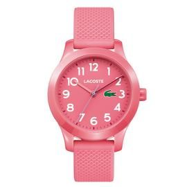 Lacoste Children's Pink Silicone Strap Watch Best Price, Cheapest Prices