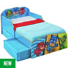 Argos Home PJ Masks Toddler Bed with Underbed Storage Best Price, Cheapest Prices
