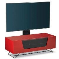 Alphason CRO2-1000BKT-RE Chromium 2 TV Cabinet with Bracket for up to 50