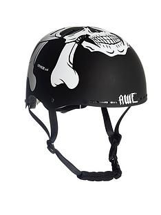 Awe Meet Your Maker BMX Helmet Black 55-58cm Best Price, Cheapest Prices