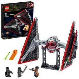 LEGO Star Wars Sith TIE Fighter Building Set - 75272 Best Price, Cheapest Prices