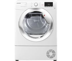 HOOVER Dynamic Next DX H9A2DCE NFC 9 kg Heat Pump Tumble Dryer - White Best Price, Cheapest Prices