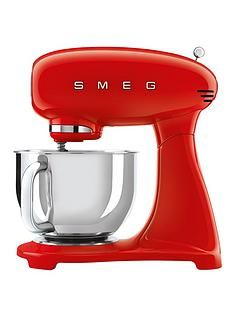 Smeg SMF03RD Stand Mixer - Red Best Price, Cheapest Prices