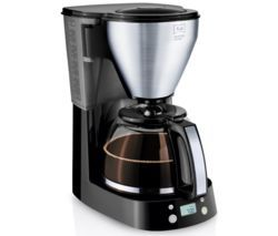 MELITTA Easy Top Timer Filter Coffee Machine - Black & Stainless Steel Best Price, Cheapest Prices
