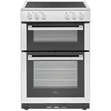 New World 60EDOC 60cm Double Oven Electric Cooker - White
