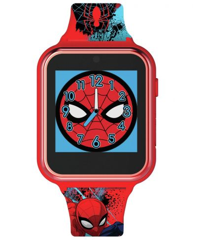 Disney Spiderman Multicoloured Silicone Childrens Watch Best Price, Cheapest Prices