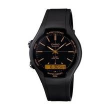 Casio Men's Alarm And Dual Time Black Resin Strap Watch Best Price, Cheapest Prices
