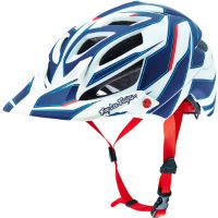 Troy Lee Designs A1 Helmet - Reflex White/Blue Best Price, Cheapest Prices