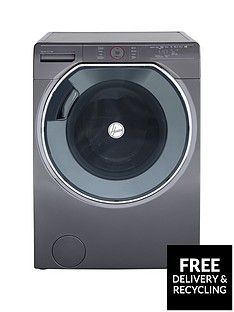 Hoover Axi AWMPD610LH8R 10kg Load, 1600 Spin Washing Machine with AI technology - Graphite/Black Best Price, Cheapest Prices