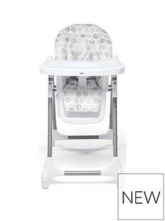 Mamas & Papas Mamas & Papas Snax Highchair- Grey Hexagons Best Price, Cheapest Prices