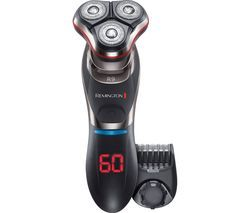REMINGTON Ultimate Series R9 XR1570 Wet & Dry Rotary Shaver - Black & Silver Best Price, Cheapest Prices