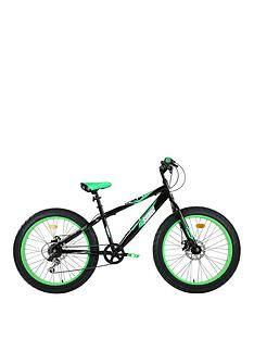 Sonic Sonic Fatbike 24 INCH 6 Speed Black/Green Best Price, Cheapest Prices